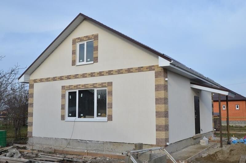 построенный дом (Абинск)
