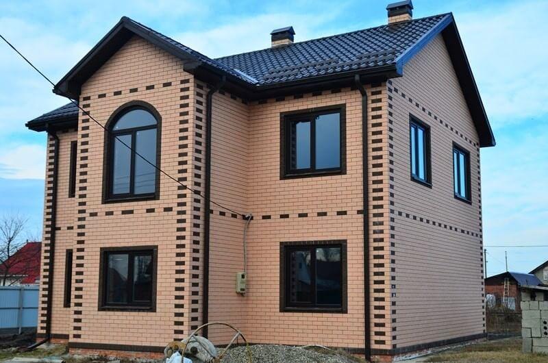 построенный дом (Геленджик)