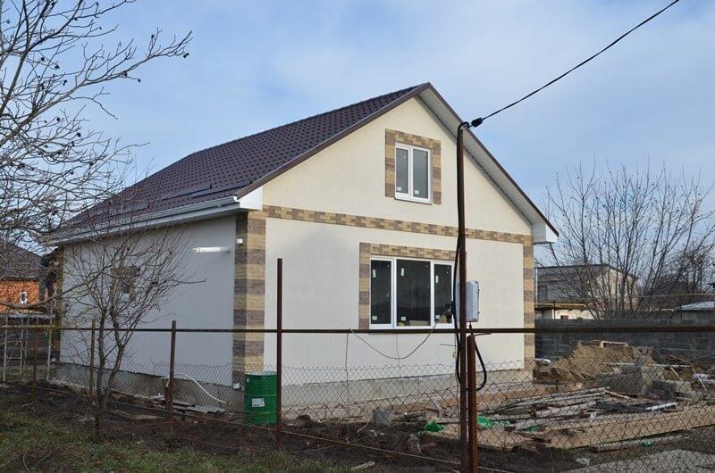 построенный дом (Гулькевичи)