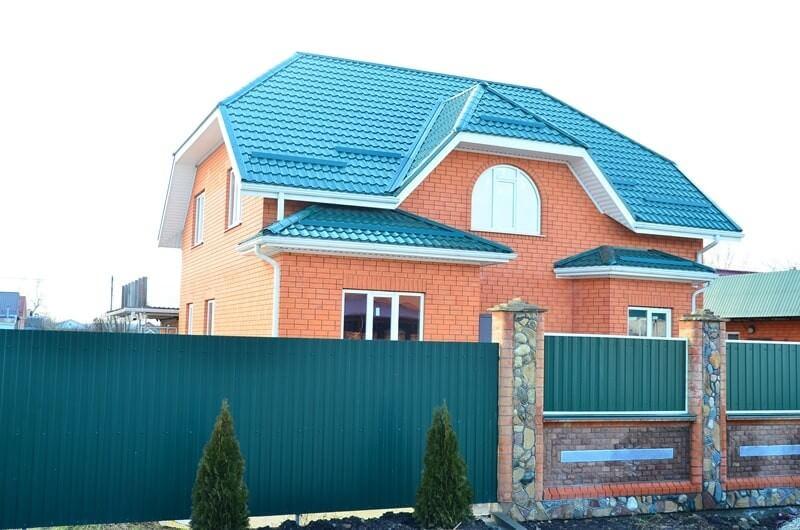 построенный дом (в Анапе)