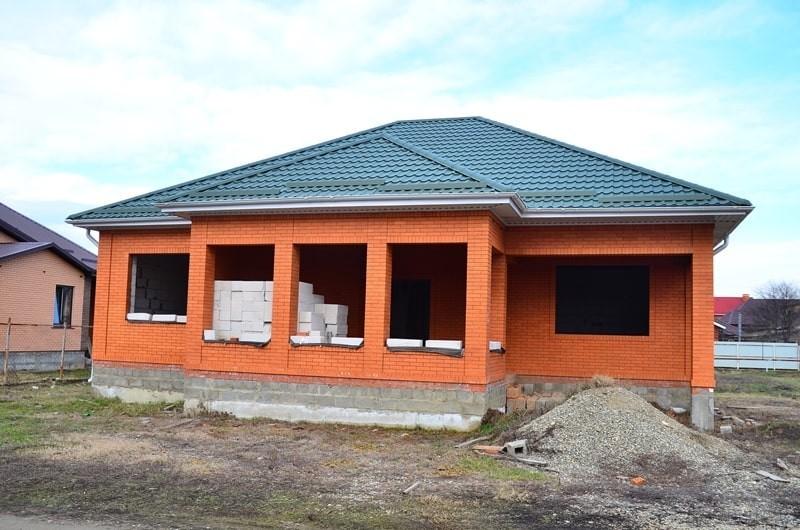 построенный дом ( в Новокубанске)