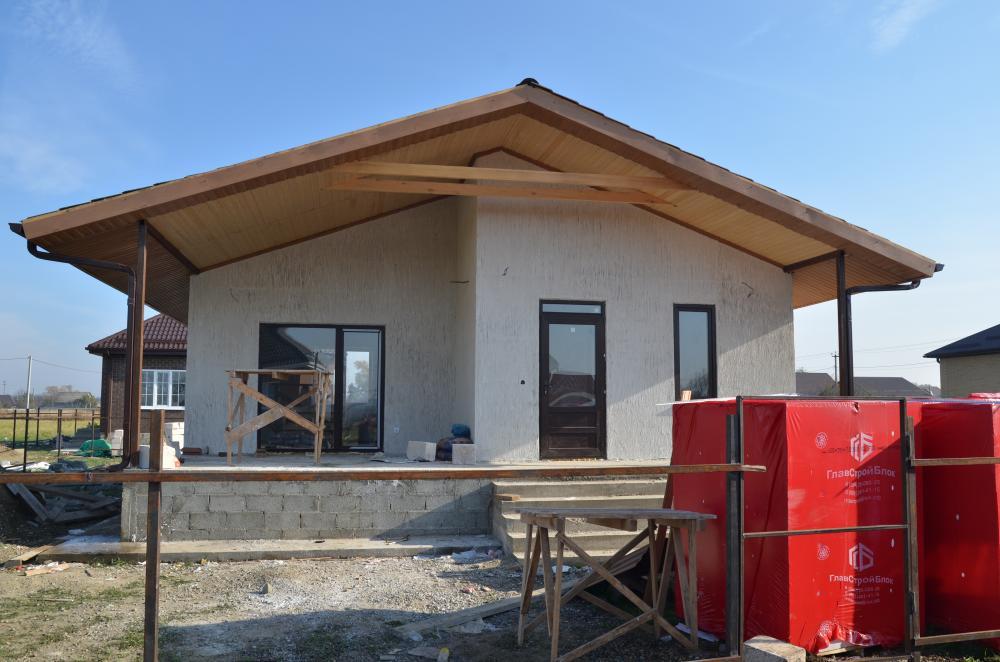 построили дом