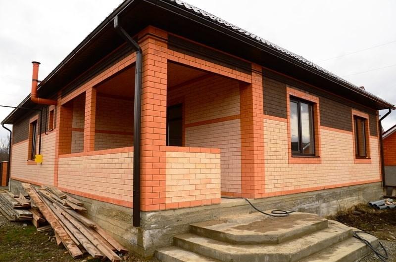 готовый 1-этажный дом в краснодарском крае