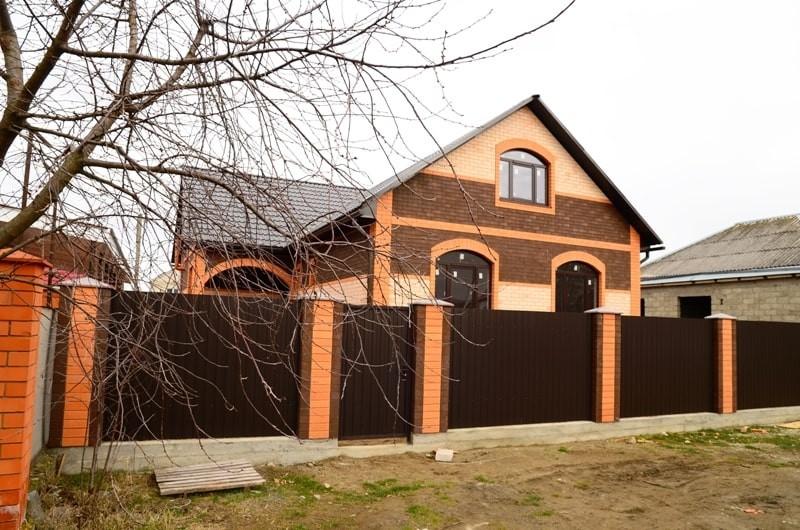 готовый 2-х этажный дом в краснодарском крае